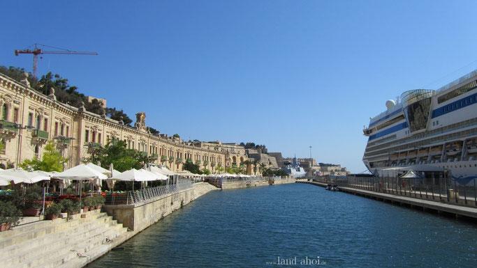 Liegeplatz Valletta Waterfont