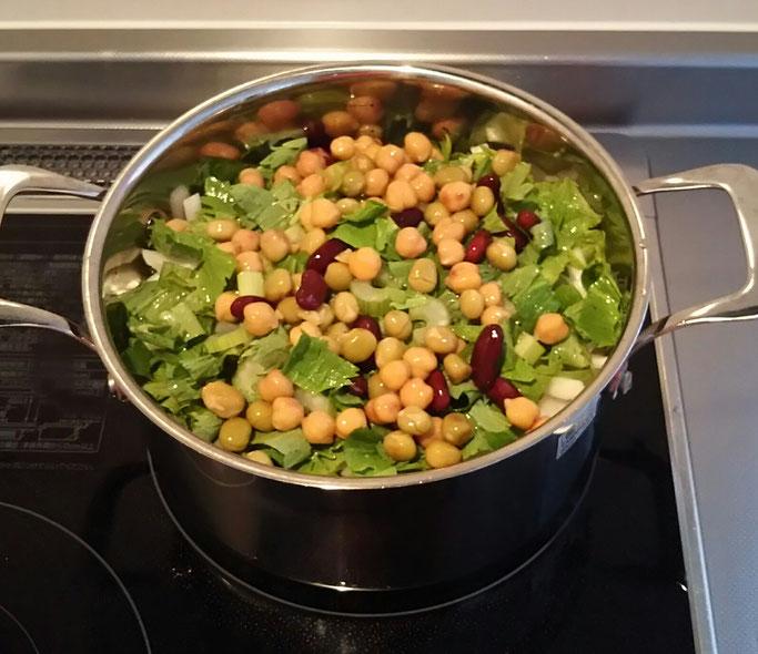大分市 みつか漢方養生堂 食養生 野菜スープ 癌予防 老化防止 生活習慣病予防