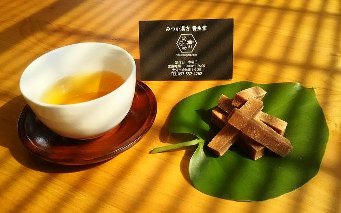 大分市 みつか漢方養生堂 食欲の秋 さんざし 烏龍茶