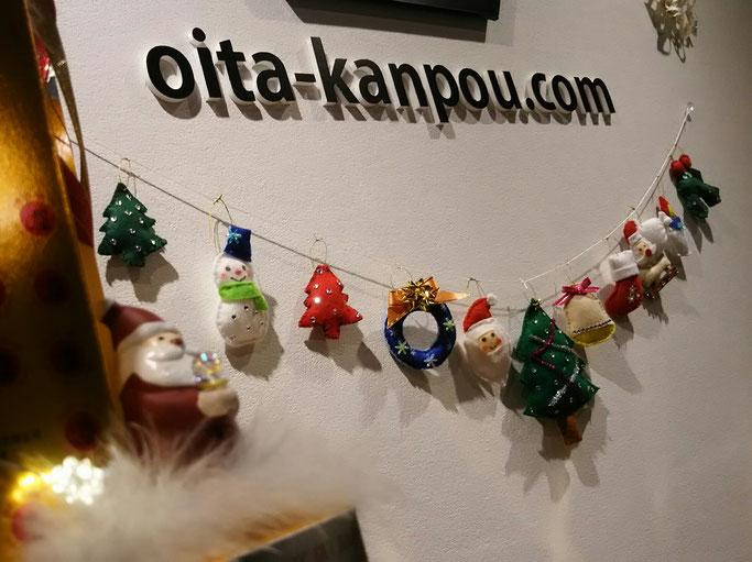 大分市 みつか漢方養生堂 クリスマス