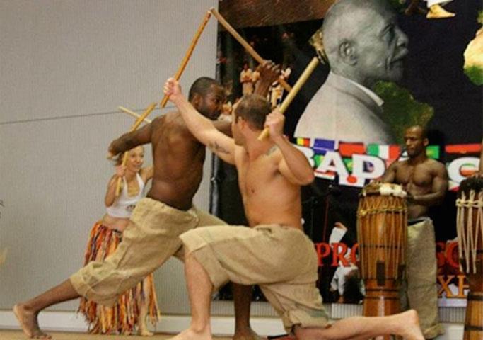 Maculelê, ein Stockkampf aus Brasilien