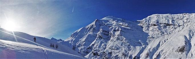 Albaron , ski de randonnée, guide maurienne
