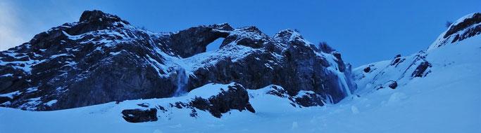 Cascade de glace valloire, el cigarillo, chorum mauriennais, ski valloire