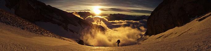 Grand Ferrand Chourum Olympique Guide de Haute Montagne Dévoluy Aussois Maurienne