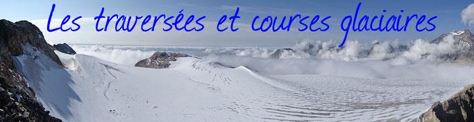 guide aussois haute maurienne alpinisme escalade randonnée glaciaire traversée des glaciers de la vanoise guide de haute montagne glaciers de la vanoise