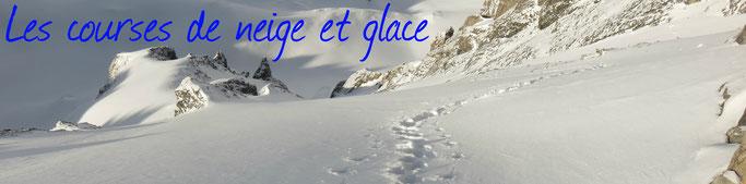 guide aussois haute maurienne alpinisme escalade randonnée glaciaire goulotte couloir parrachée grande casse guide de haute montagne glaciers de la vanoise