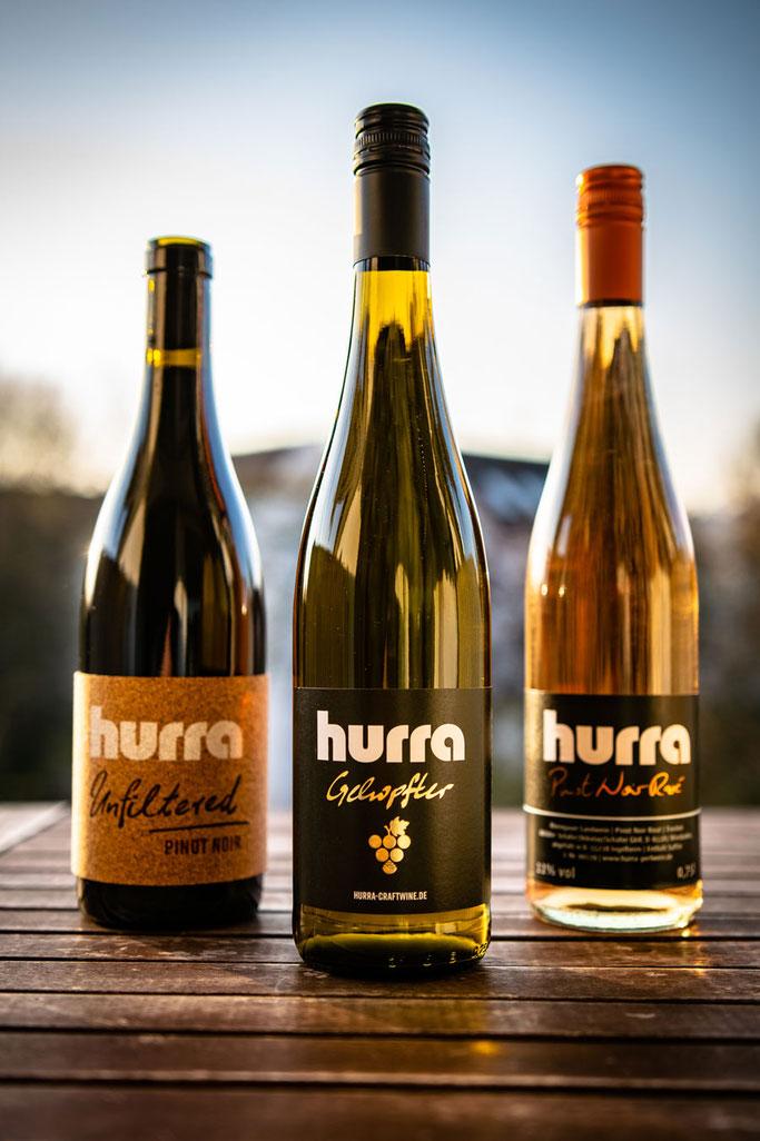 hurra-Weinsortiment