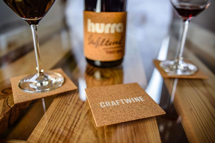 hurra-Upcycling-Weinuntersetzer-Korkbanderole