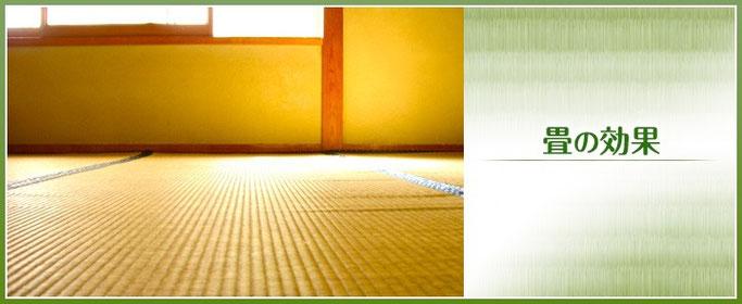 畳の効果:東京都葛飾区東堀切の畳店、タカハシ
