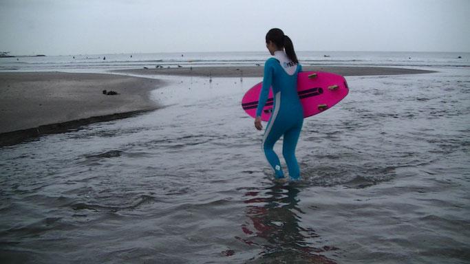 サーフィン軸足の使いかた