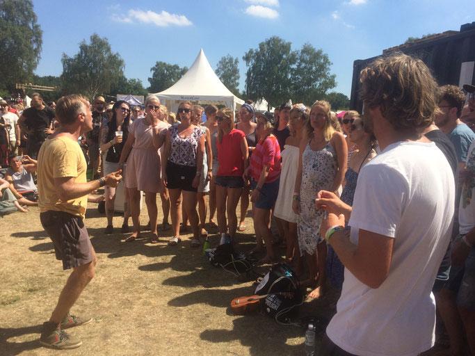 Hamburger Kneipenchor beim 'A Summer's Tale'-Festival, 2018