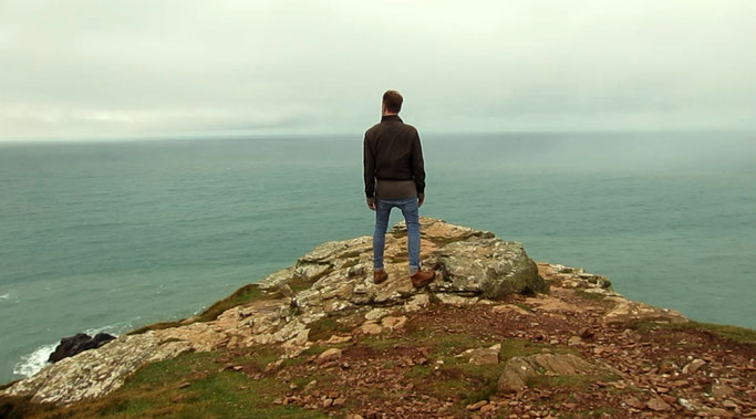 Videodreh in Cornwall