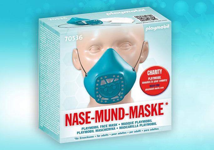 Ce modèle de masque PLAYMOBIL est uniquement destiné aux adultes.