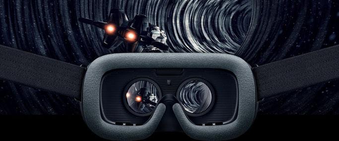 Samsung Gear VR.  © SAMSUNG