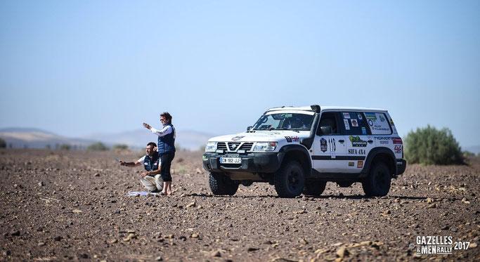 Fabienne Lalande Burg et Pascal Burg - Équipage 118 - Timlaline Team - Gazelles & Men Rally.