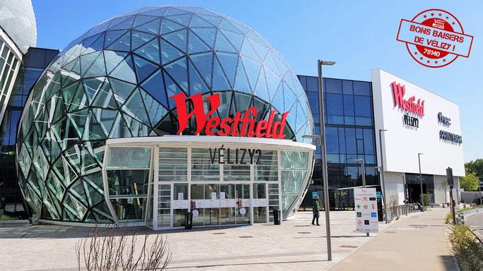 Dôme du centre commercial Westfield Vélizy 2.