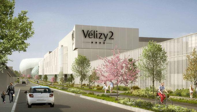 Westfield Vélizy 2 - Extension Commerce - © Cabinet d'architecture L35 ARQUITECTOS.