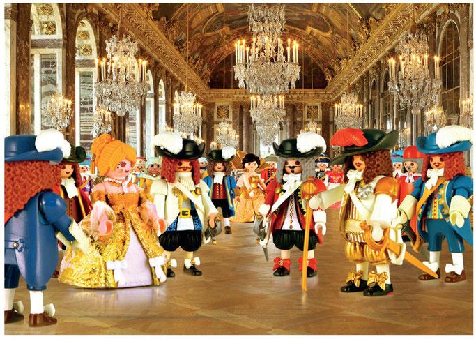 Exposition « L'Histoire en Playmobil » - Versailles.