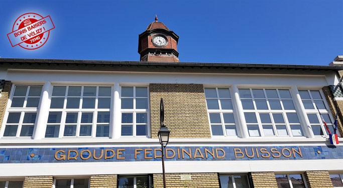 Groupe scolaire Ferdinand Buisson – École filles et garçons – Vélizy-Villacoublay.