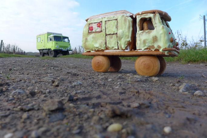 Robur Wohnmobil Expeditionsmobil Lebkuchen Bastei Wohnwagen