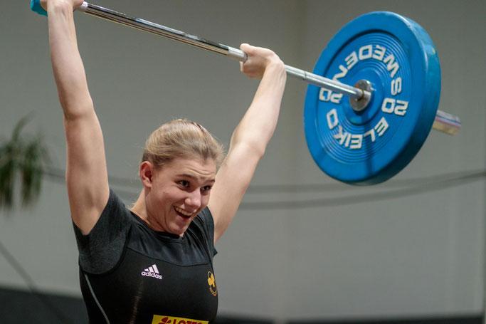Laura Rößler blieb in einem guten Wettkampf nur knapp unter ihrem Ergebnis gegen Speyer