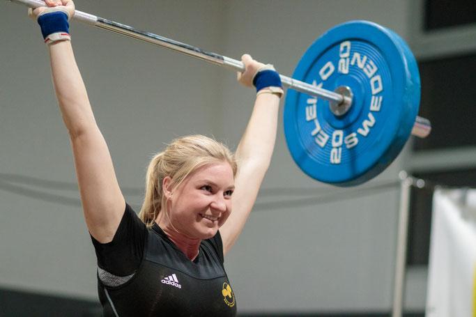 Simone Glenk blieb einmal mehr fehlerfrei in beiden Disziplinen
