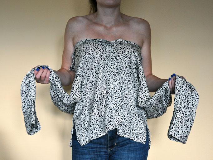DIY: Aus Bluse mach Top Nähen Fairy Tale Gone Realistic Modeblog Fashionblog Deutschland