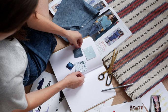 So plane ich meine Nähprojekte Nähblog Nähanleitungen Modedesign DIY Nähen