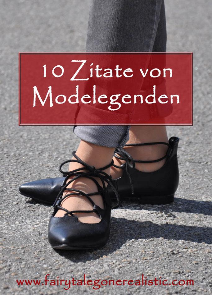 Zehn Zitate von Modelegenden Chanel Lagerfeld Saint Laurent Joop Kretschmer Modeblog Fairy Tale Gone Realistic Fashionblog Deutschland Passau