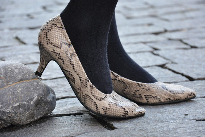 1 Outfit 2 Schuhtrends 24 Stunden DIY Fashion