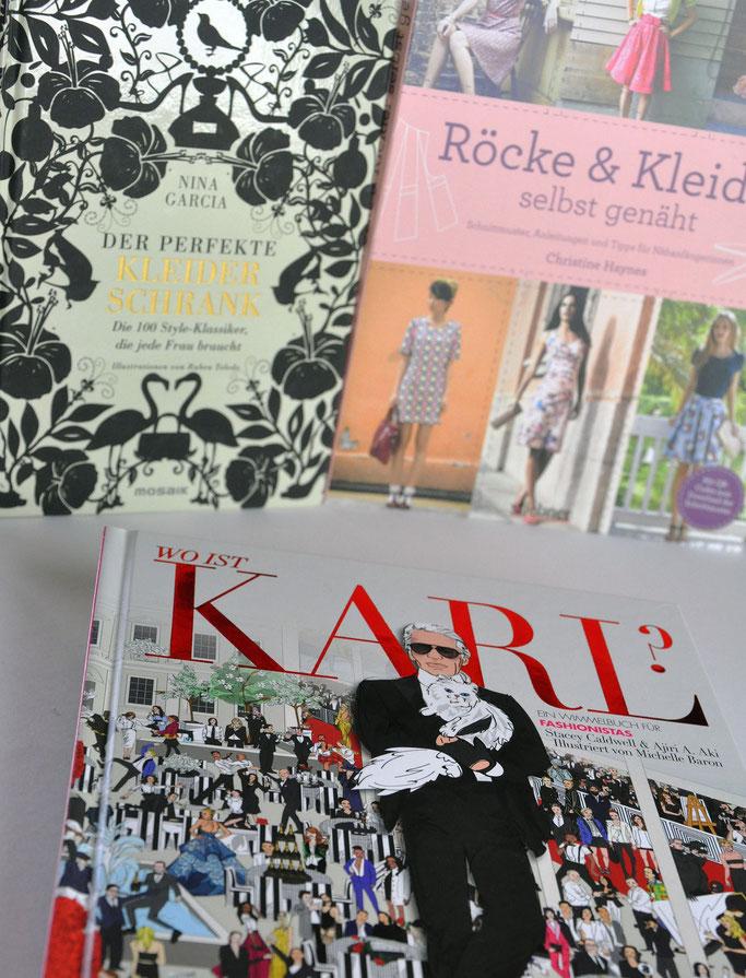 Bücher Gewinnspiel der perfekte Kleiderschrank Röcke und Kleider selbst genäht Wo ist Karl? Modeblog Fairy Tale Gone Realistic Fashionblog Deutschland