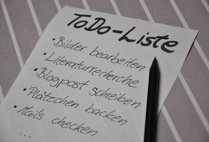 Tipps für das Arbeiten mit ToDo Liste Zeitmanagement Lifestyleblog Deutschland Fairy Tale Gone Realistic Modeblog