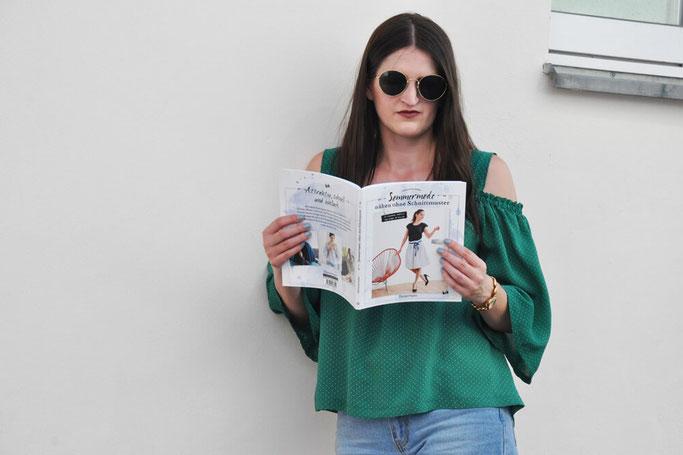 Sommermode nähen ohne Schnittmuster Buchrezension Nähblog Modeblog DIY Blog Fairy Tale Gone Realistic