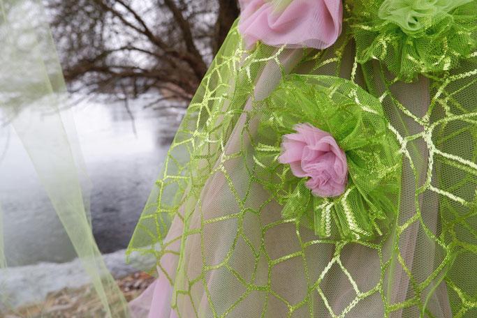 Faschingskostüm mit Tüllrock Elfe  selbstgenäht Nähblog