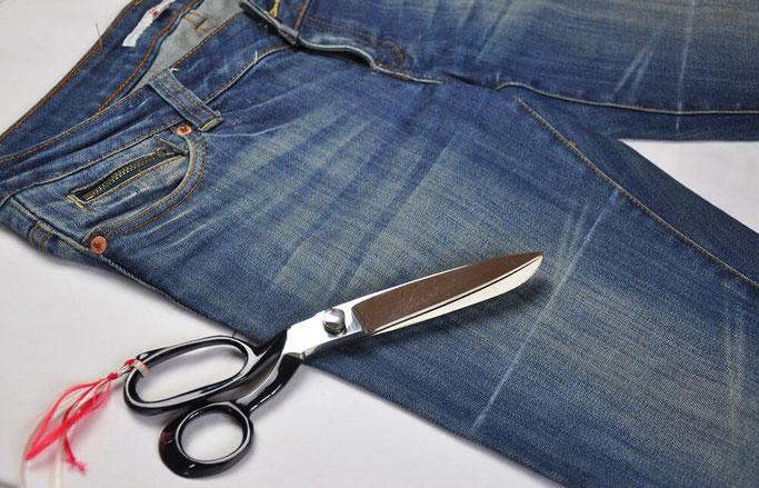 DIY Patchwork Jeans nähen DIY Fashion Nähblog Fairy Tale Gone Realistic Modeblog Deutschland