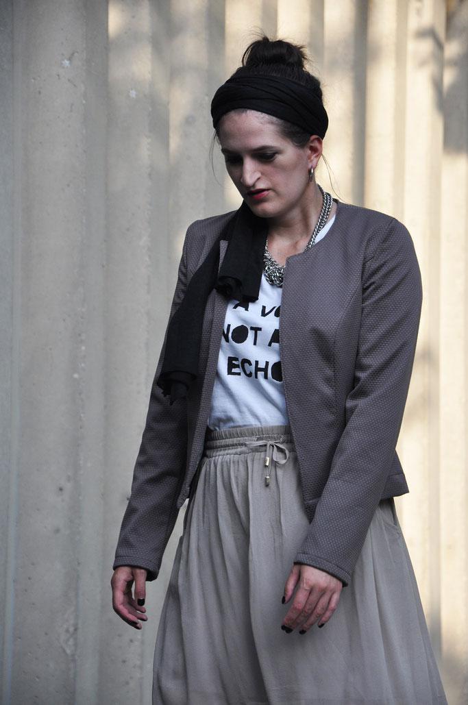selbstgenähte Jacke Nähen DIY Fashion Nähblog Fairy Tale Gone Realistic Fashionblog Modeblog