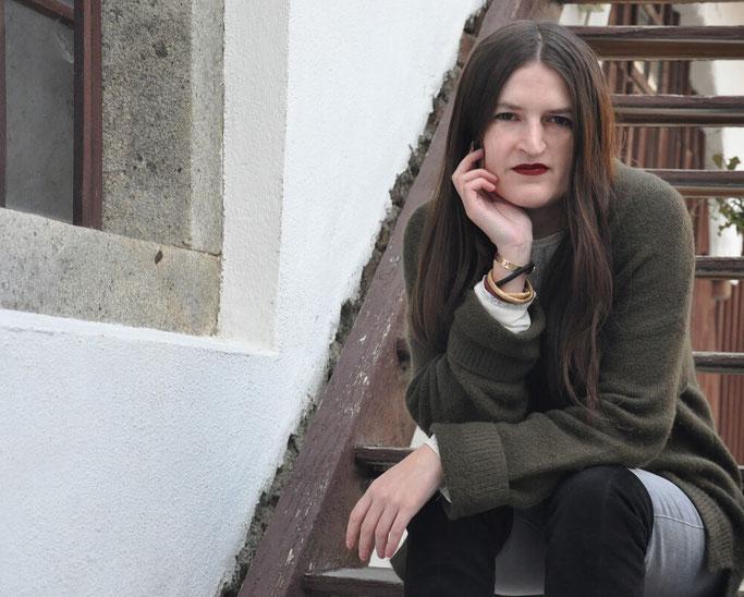 Oversizepulli kombinieren Frühling Entscheidungen Modebloggerin Deutschland Nähen Nähblog Deutschland