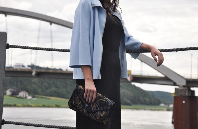 klassisches Kleines Schwarzes nähen selbstgenäht Burda Schnitt DIY Mode Nähblog Fairy Tale Gone Realistic Modeblog Deutschland
