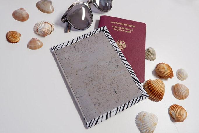 Reisepassetui nähen accessoires DIY-Anleitung für anfänger nähblog