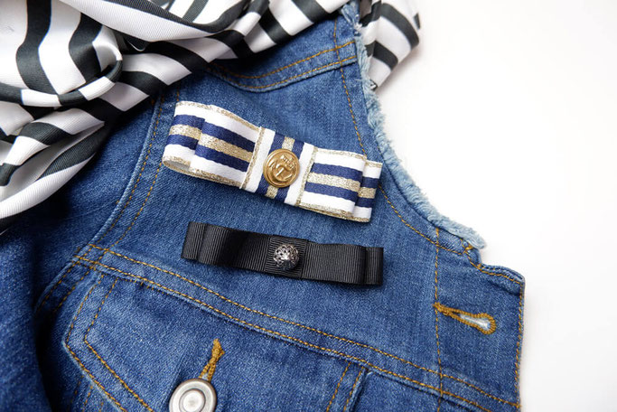 DIY Schleifen Brosche aus Ripsband Nähblog DIYblog Modeblog Nähen selbstgenähte Kleidung