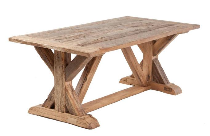 Original Klostertisch aus alter Eiche nach Maß gefertigt