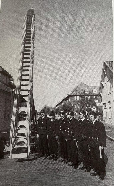 Stolz auf die Leiter