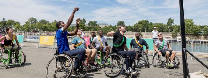 Sensibilisation basket fauteuil