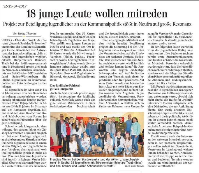 Schwäbische Zeitung -25-04-2017-