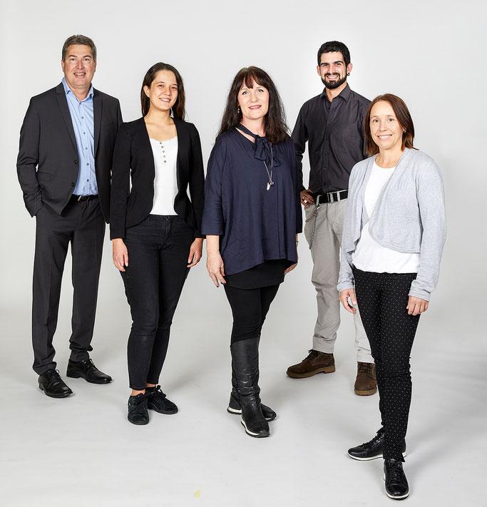 Team Kinder-und Jugendclub / Musikvermittlung / Adrian Zinniker, Michelle Süess, Irene Bruttel, Marco Ackermann, Ursula Jakob