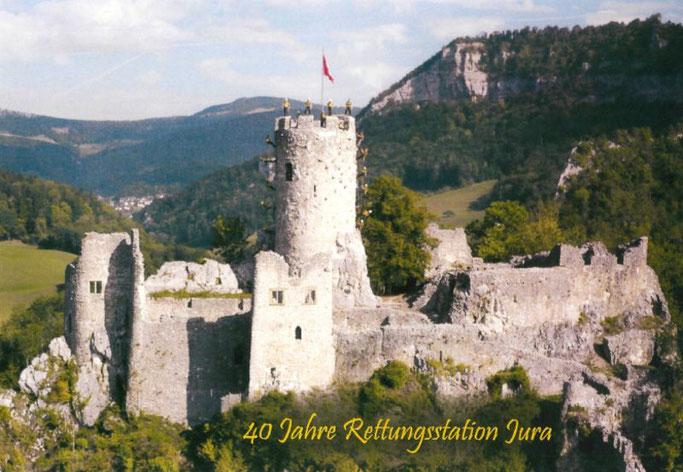40- Jahre Jubiläum... Die Rettungsstation Jura auf der Ruine Neu- Falkenstein in Balsthal
