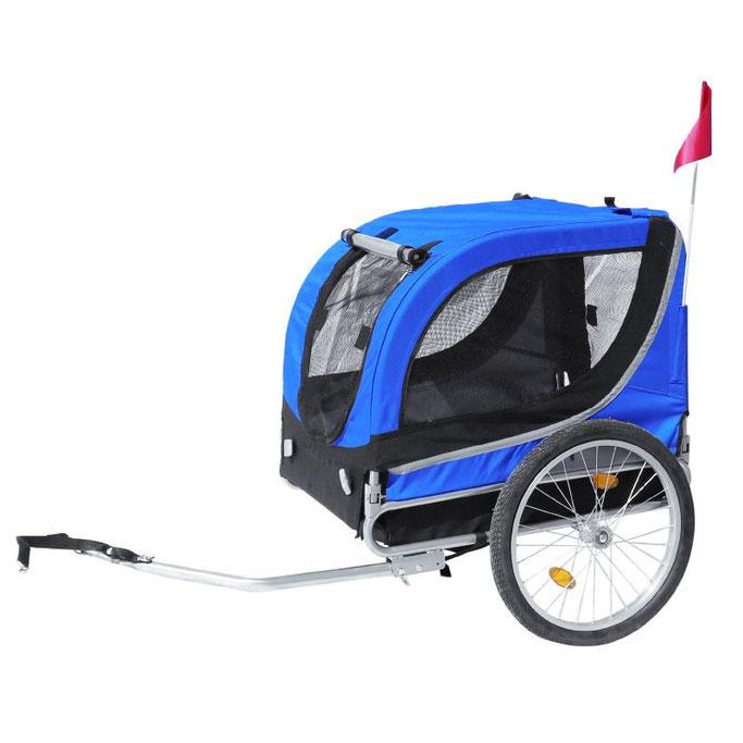 remorque vélo pour chien H51 -   L68/43 maxi 30 kgs