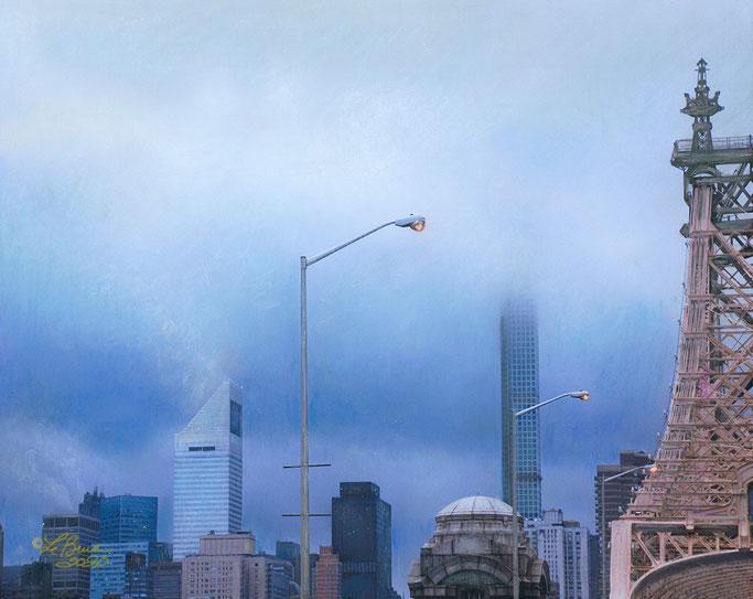 NYC in a Summer Fog