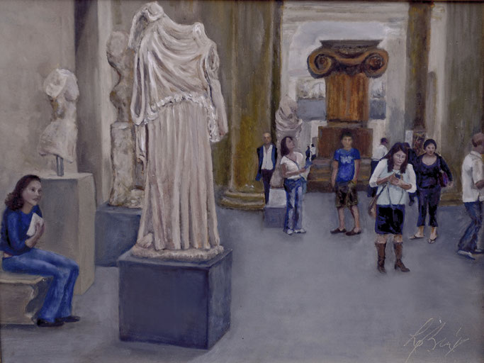 Eirene (Peace): In the Met Sculpture Room