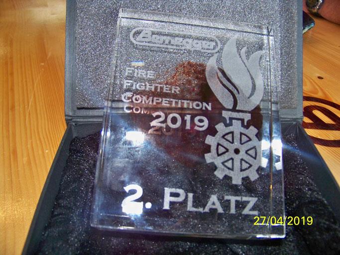 FF-Ternberg kann 2. Platz erfolgreich verteidigen